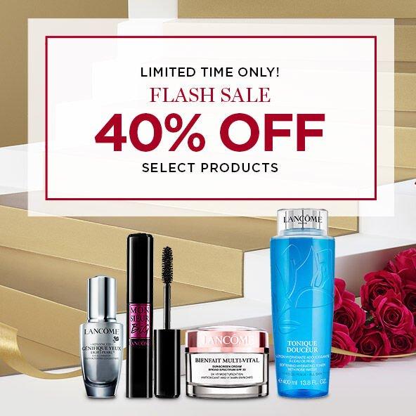 ¡Solo por tiempo limitado! Oferta flash. 40% de descuento en productos seleccionados. *Debe iniciar sesión para recibir un 40% de descuento.