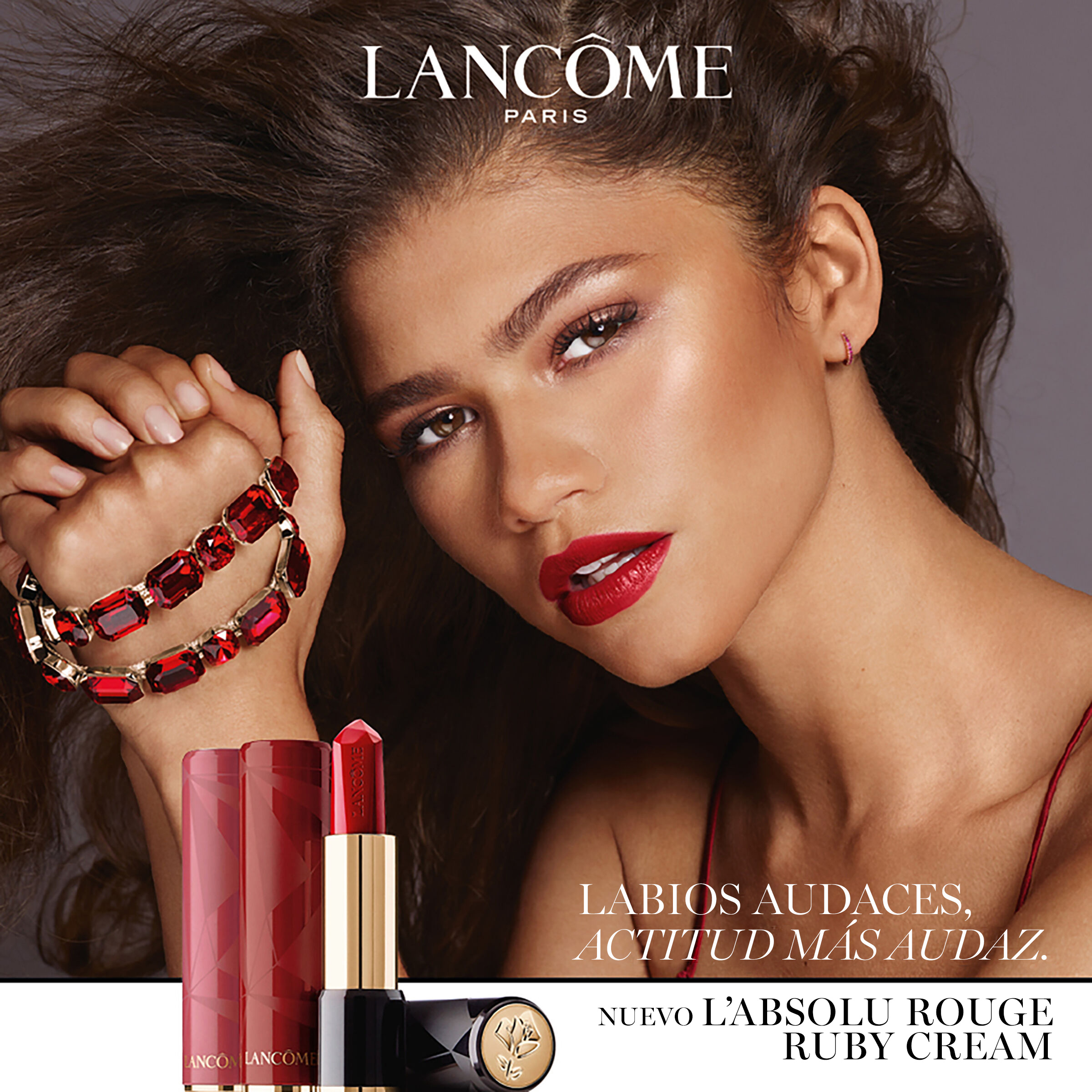 Lápiz labial L'Absolu Rouge Ruby Cream